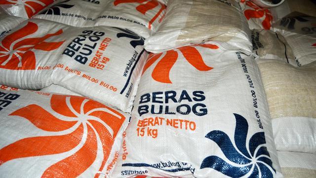 bulog sumatera selatan stok beras