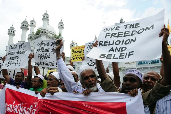 sri lanka membasmi anti muslim