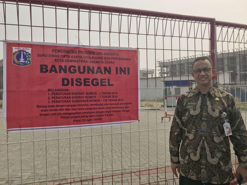 reklamasi, interpelasi, DPRD DKI jakarta, Anies Baswedan.