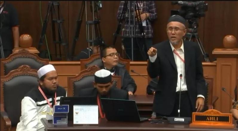Jaswar Koto, Ahli IT, Ahli Kelautan, Saksi, Sidang MK, Prabowo-Sandi, Pilpres 2019