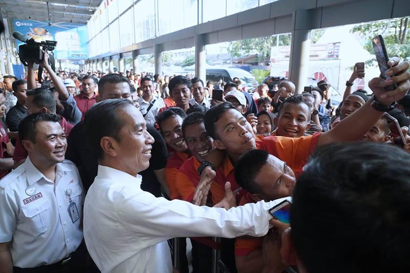 Jokowi Idulfitri