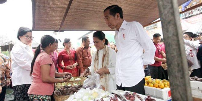 Revitalisasi Pasar Sukawati, Jokowi