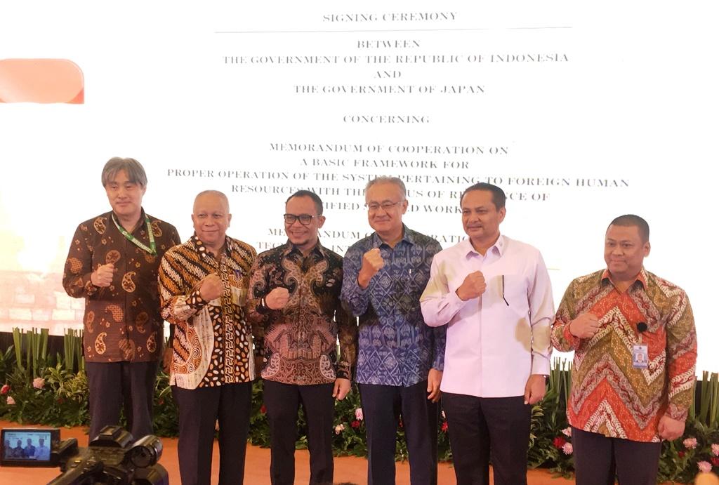 kesepakatan tenaga kerja indonesia ke Jepang