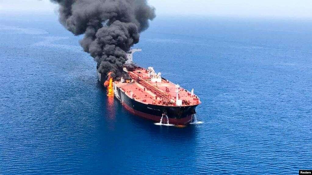 Iran, Teluk, serangan kapal tangker