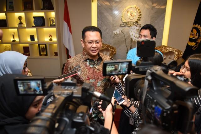 Ketua DPR Buka Ruang Dialog Dengan Mahasiswa