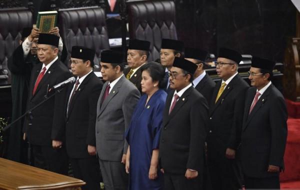 Bambang Soesatyo Sah Ketua MPR Periode 2019-2024