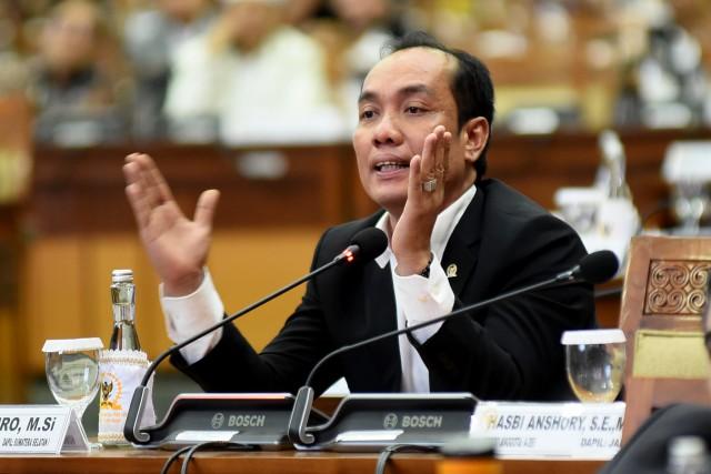 UU MD3 Tidak Melarang Satu Kementerian Bermitra Dengan Dua Komisi