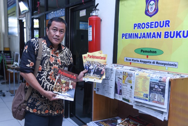 Parlementaria Terdistribusi Baik di Gorontalo