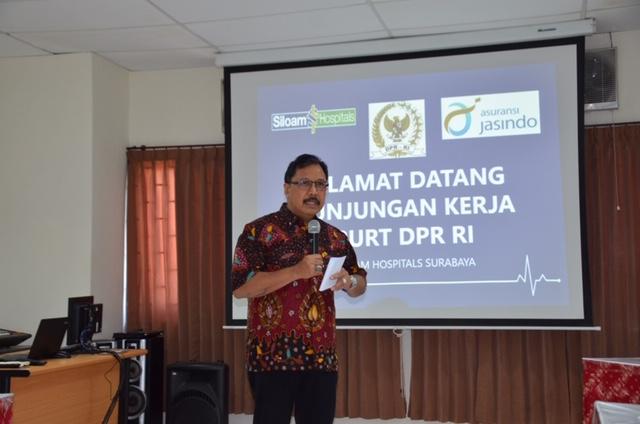Layanan Jamkestama di RS Siloam Surabaya Sudah Maksimal