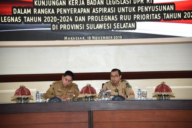 Regulasi Investasi Mengemuka Saat Baleg Serap Aspirasi Di Makassar