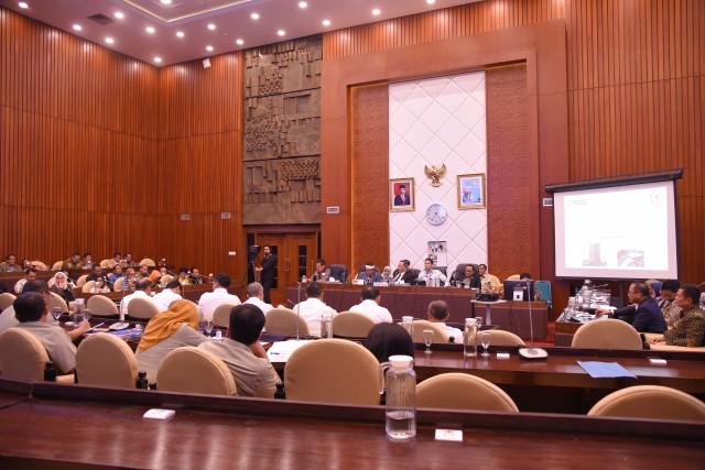 Komisi II DPR Bahas Rencana Strategis Kemendagri 2019-2024