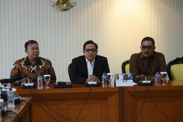 Muhaimin Iskandar Terima Audiensi MRP