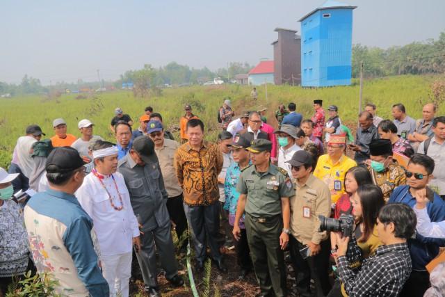 Komisi IV DPR Kunjungi Lokasi Terdampak Karhutla di Kalteng