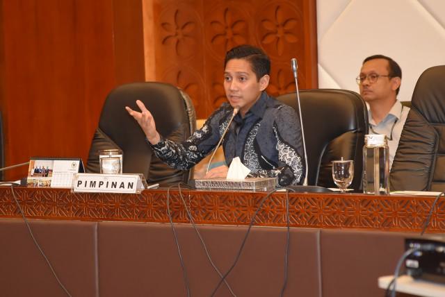 BK DPR Diminta Siapkan Usulan 'Omnibus Law' Terhadap Bidang Komisi IV