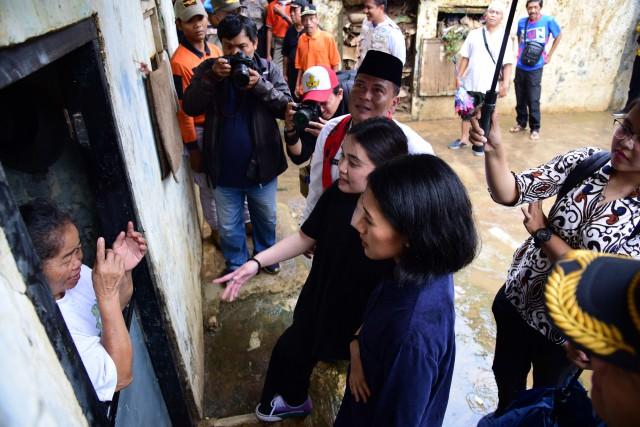 Kaukus Pemuda Parlemen Indonesia Tinjau Kondisi Pasca Banjir Jakarta