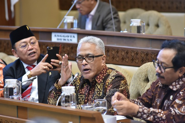 Penangkapan Komisioner KPU Pengaruhi Kepercayaan Publik