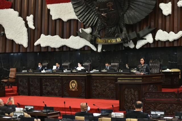 RUU Haluan Ideologi Pancasila Disetujui Jadi Usul Inisiatif DPR