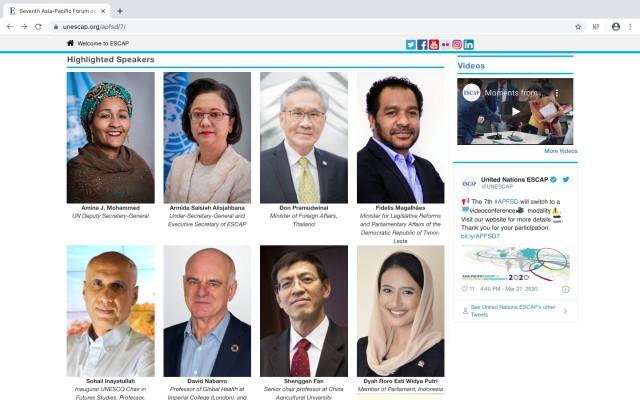 Dyah Roro Bicara Dampak Pandemi Covid-19 di Forum Internasional
