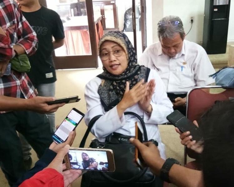 Kepala Dinas Kesehatan (Dinkes) Kota Bogor, Sri Nowo Retno