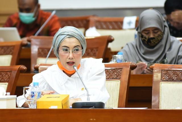 Selly Andriany Dukung Keberadaan Program Pusat Logistik BNPB