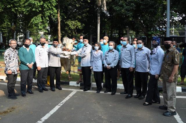 Kurban di Masa Pandemi, Setjen DPR Terapkan Protokol Kesehatan