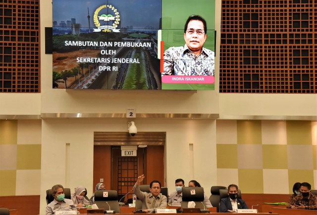 Sekjen DPR Buka Workshop Penanganan Kondisi Darurat di Kompleks Parlemen