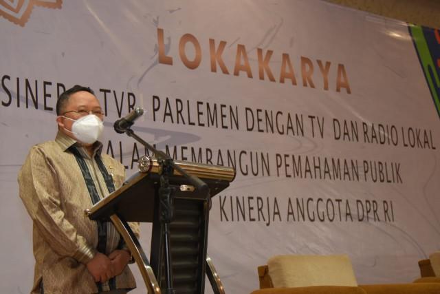 Legislator Apresiasi Lokakarya TVR Parlemen
