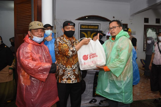 Ahmad Syaikhu Prihatin Banjir Melanda Wilayah Kota Bekasi