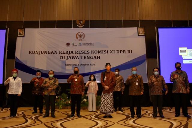 Komisi XI Dorong Percepatan Pembangunan Ekonomi Kawasan di Provinsi Jawa Tengah