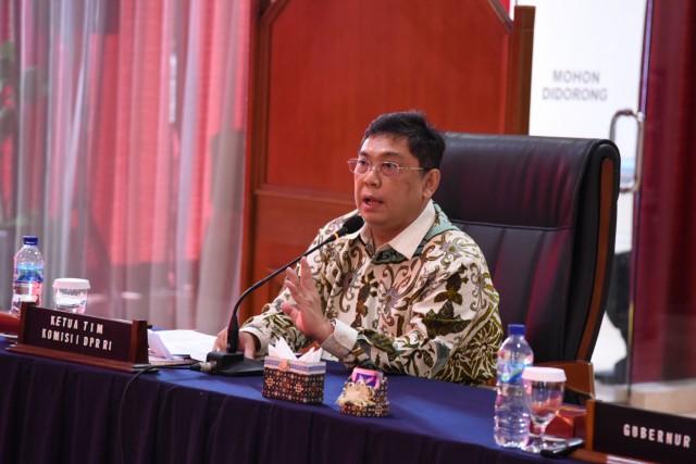 Komisi I Dukung AAU Hasilkan Pimpinan TNI Profesional dan Tangguh