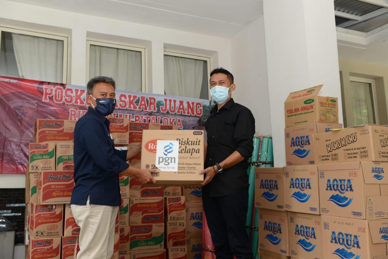 PGN Salurkan Bantuan Bagi Korban Banjir Bekasi dan Karawang