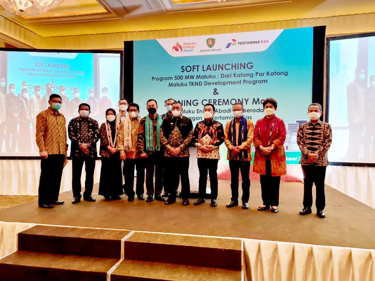 Pertamina Gas Ambil Bagian Dalam Program 500 MW Maluku dan Pengembangan TKND Maluku