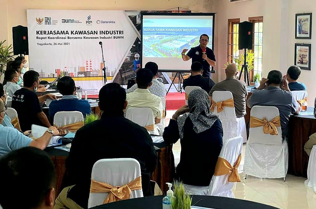 PGN Kolaborasi dengan Kawasan Industri BUMN Tingkatkan Pemanfaatan Gas Bumi Nasional