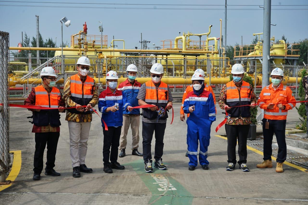 PGN Resmikan Jumperline Tambak Lorok Guna Memenuhi Demand Gas Jawa Tengah