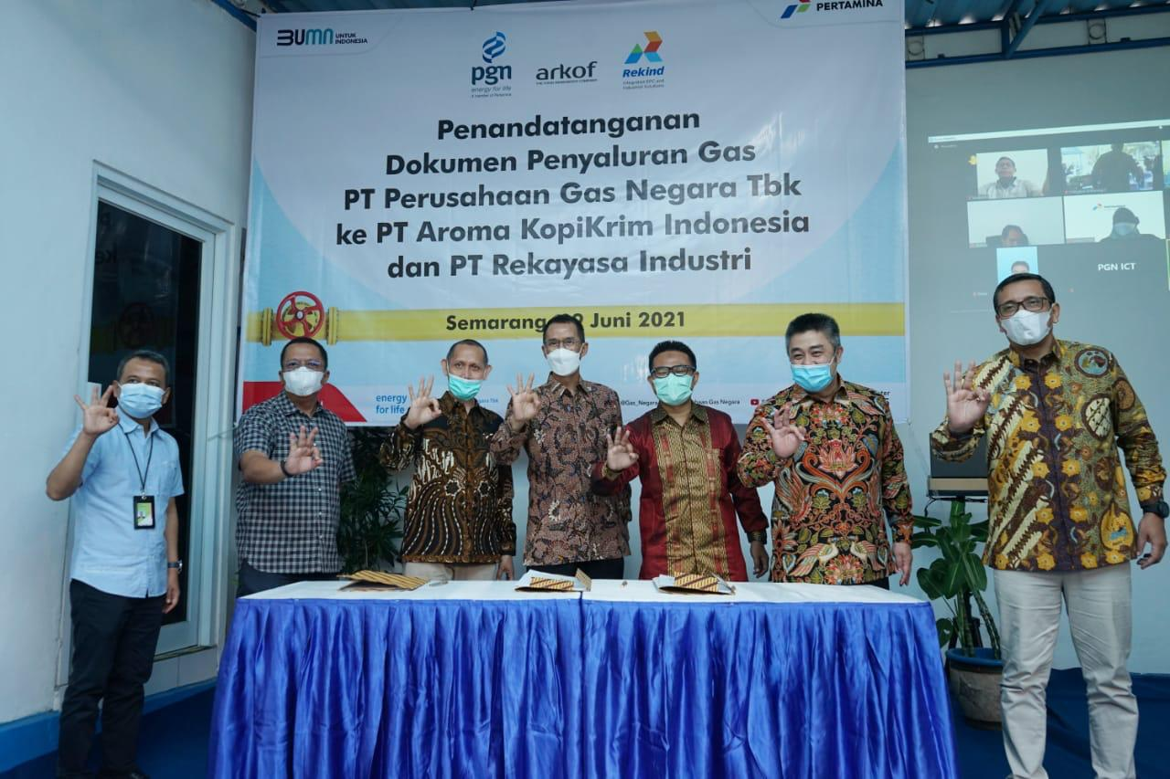 PGN dan Rekind Sepakati Penyaluran Gas Terkait Uji Coba Produksi Sumur JTB