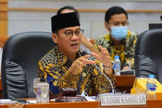 Yandri Susanto: Segera Fungsikan Asrama Haji Jadi Tempat Isolasi COVID-19