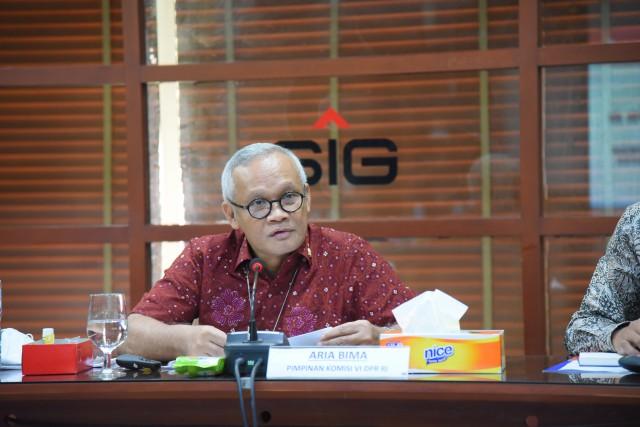 Aria Bima: Pembangunan Infrastruktur Jadi Peluang Pasar Bagi PT Semen Gresik