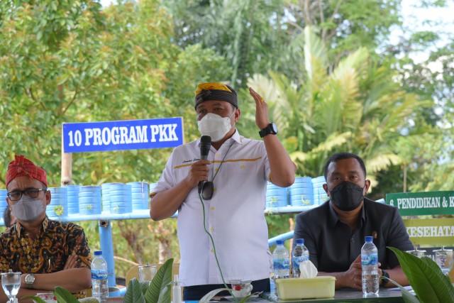 Lamhot Sinaga Harap Kawasan Danau Toba Produksi Pakan Ternak Berbasis Jagung