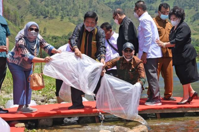 Mindo Sianipar: Jaga Kelestarian, Ikan Lokal Harus Dibudidayakan